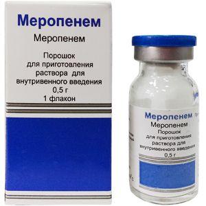 фото упаковки Меропенем