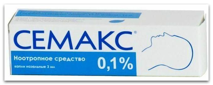 Семакс, 0.1%, капли назальные, 3 мл, 1 шт.