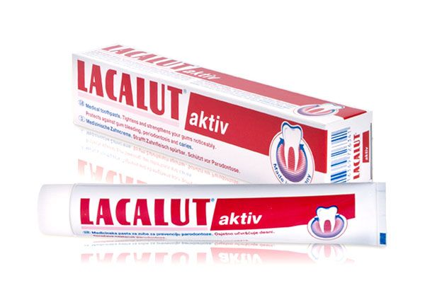 фото упаковки Lacalut Aktiv Зубная паста