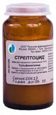 фото упаковки Стрептоцид