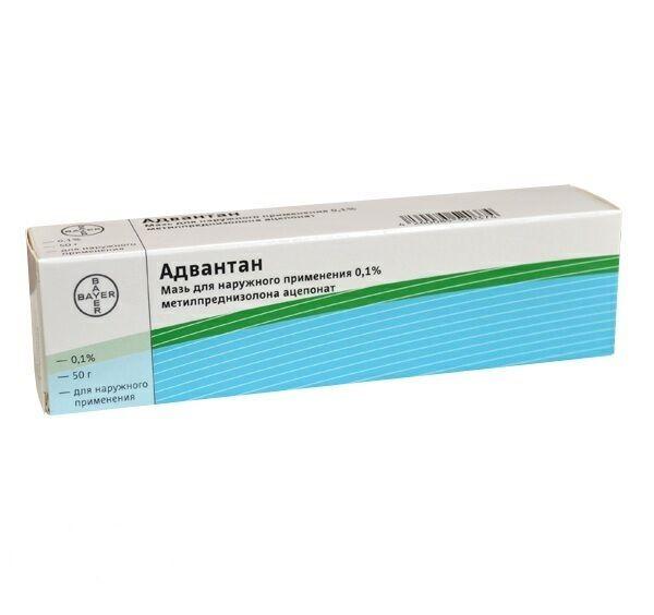 Адвантан, 0.1%, мазь для наружного применения, 50 г, 1 шт.
