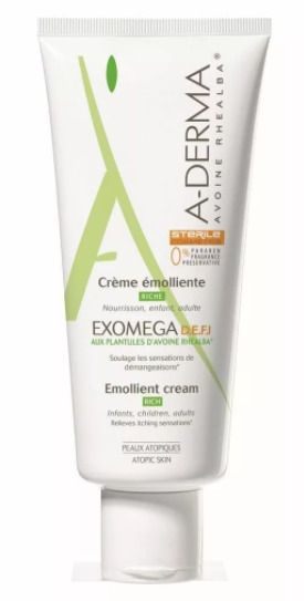 A-Derma Exomega D.E.F.I. крем смягчающий, крем для тела, 200 мл, 1 шт.