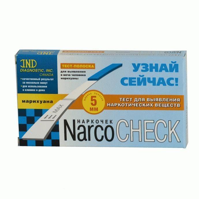 фото упаковки Тест на наркотики NarcoCheck Марихуана