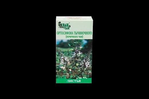Ортосифона тычиночного (Почечного чая) листья, листья измельченные, 50 г, 1 шт.