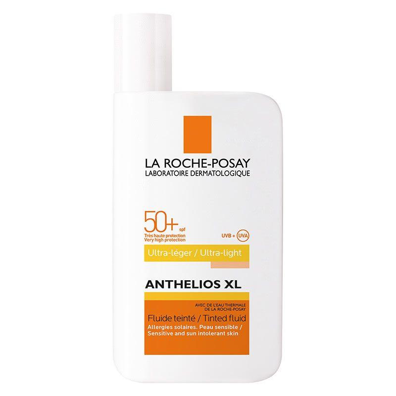 фото упаковки La Roche-Posay Anthelios XL SPF50+ флюид тонирующий солнцезащитный
