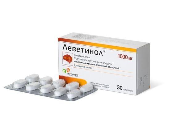 фото упаковки Леветинол