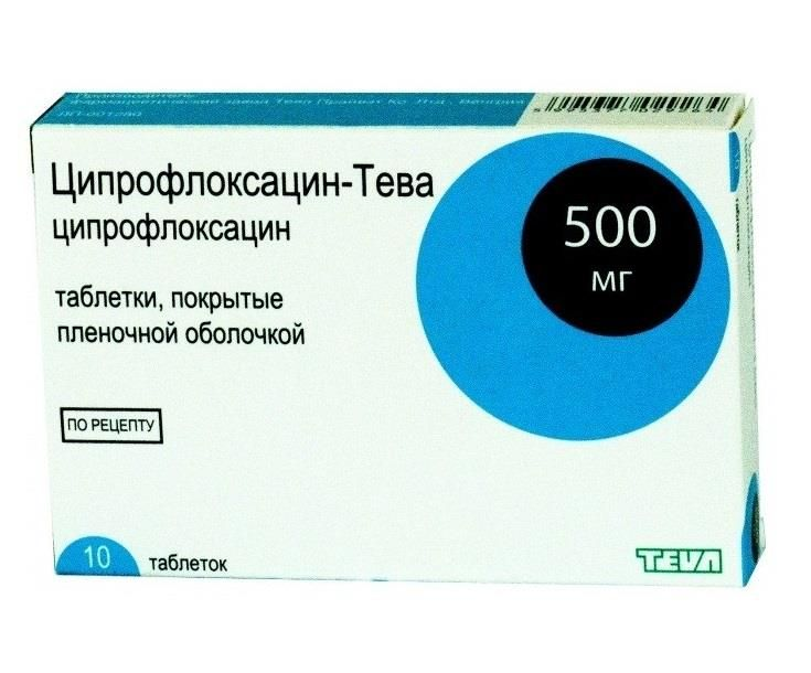 фото упаковки Ципрофлоксацин-Тева