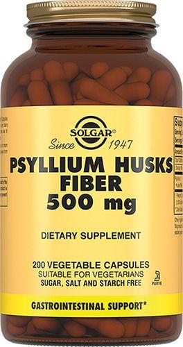 фото упаковки Solgar Псиллиум пищевые волокна 500 мг