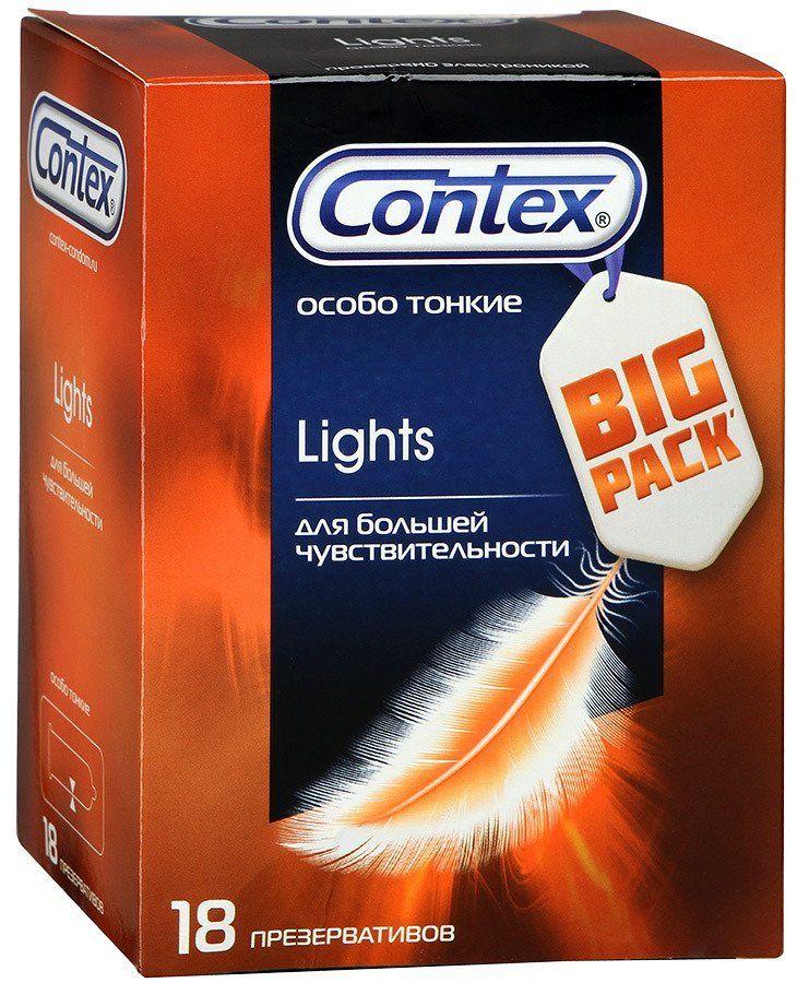 фото упаковки Презервативы Contex Lights