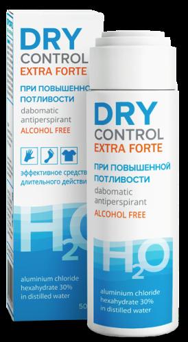 фото упаковки Dry Control Extra Forte дабоматик антиперспирант без спирта 30%