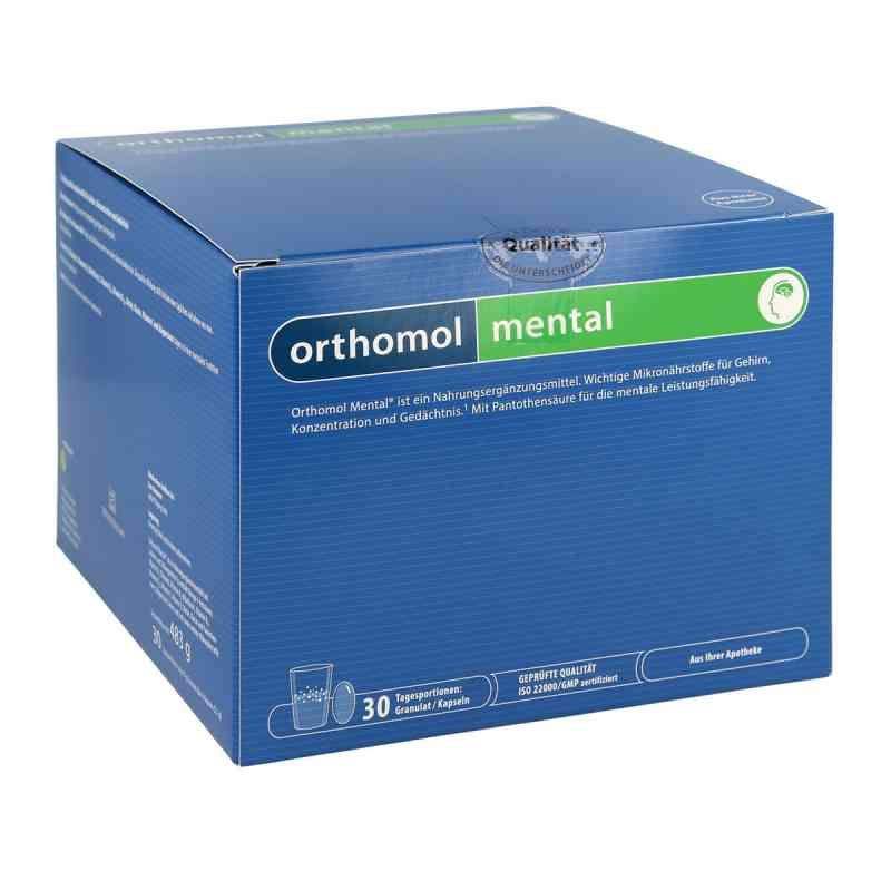 фото упаковки Orthomol Mental Активация мыслительной деятельности