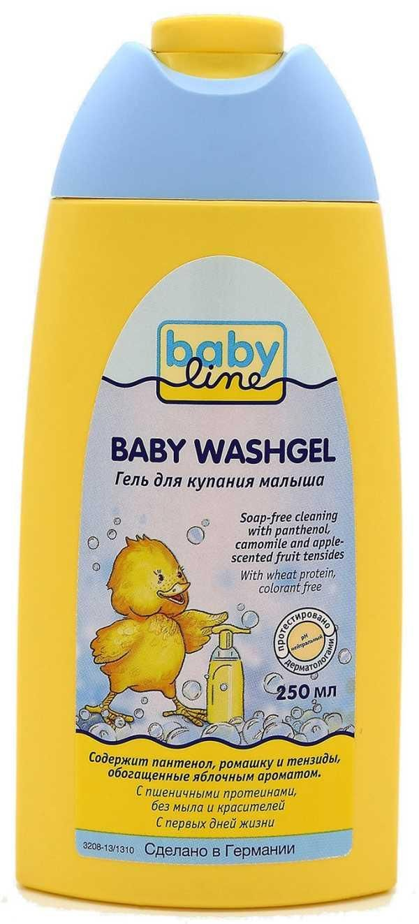фото упаковки Babyline гель для купания