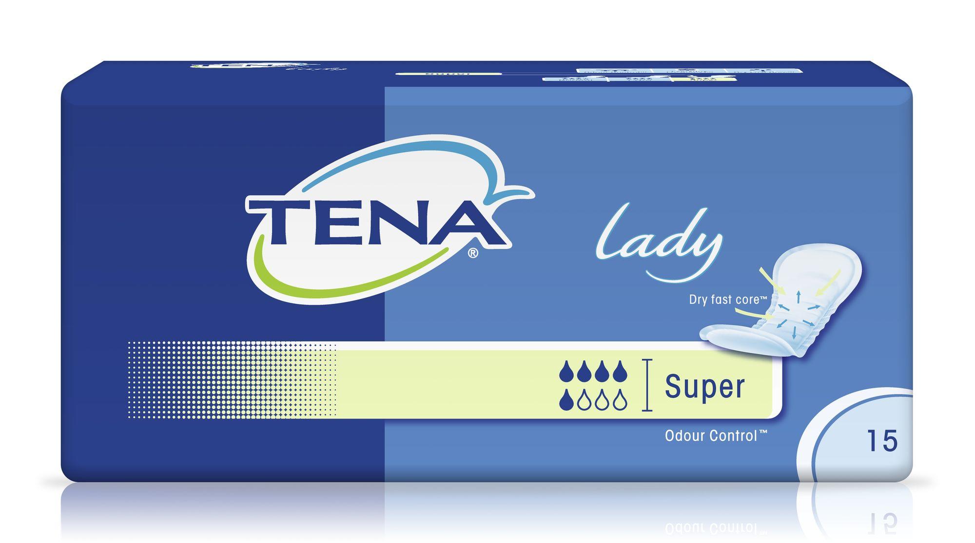 фото упаковки Прокладки урологические Tena Lady Super