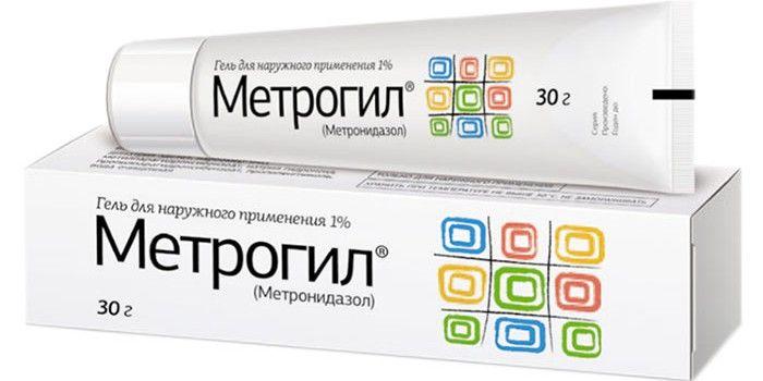 фото упаковки Метрогил (гель)