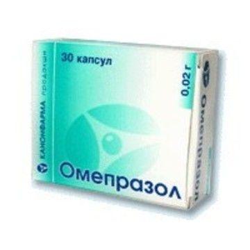 фото упаковки Омепразол