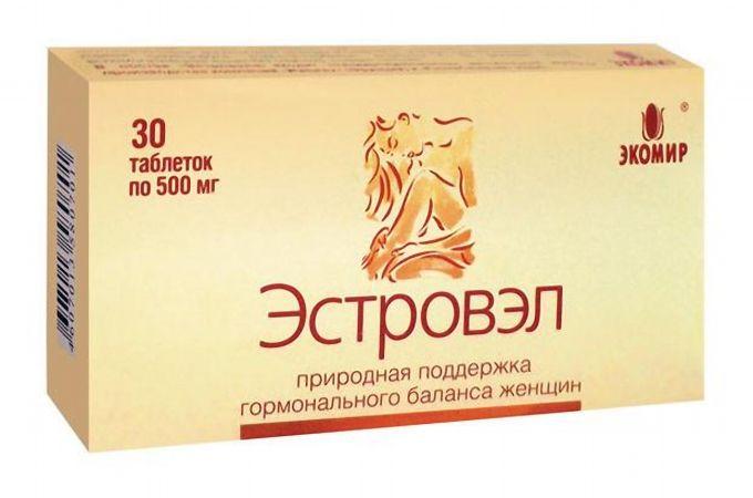 Эстровэл, 520 мг, капсулы, 30 шт.