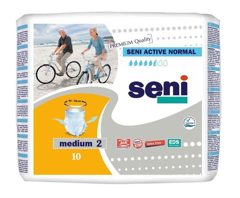 фото упаковки Подгузники-трусы Seni Active Normal