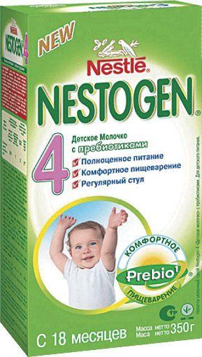 фото упаковки Nestogen 4 с пребиотиками