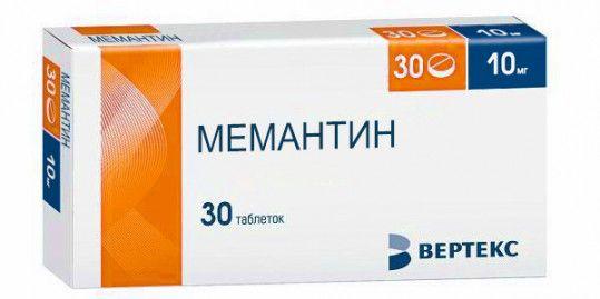 фото упаковки Мемантин