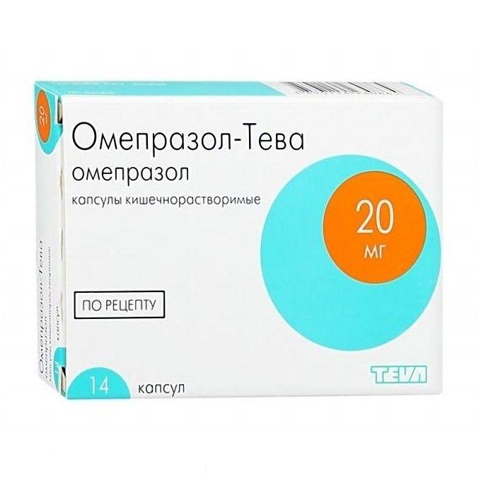 фото упаковки Омепразол-Тева