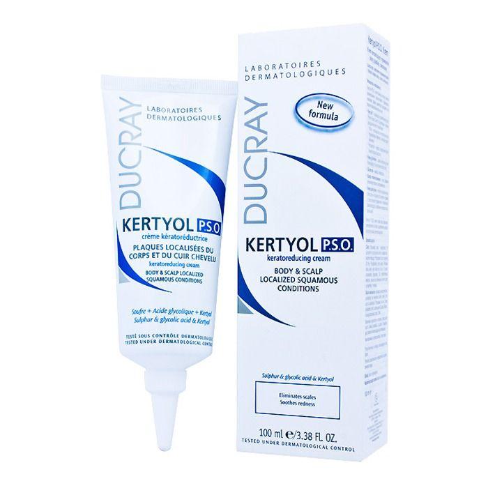 фото упаковки Ducray Kertyol PSO крем уменьшающий шелушение кожи