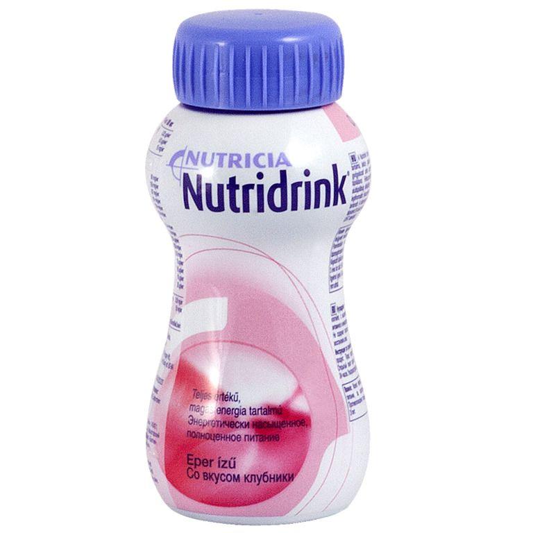 Nutridrink, жидкость для приема внутрь, со вкусом клубники, 200 мл, 1 шт.
