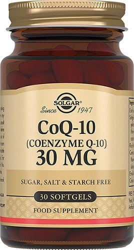 фото упаковки Solgar Коэнзим Q10-30 мг