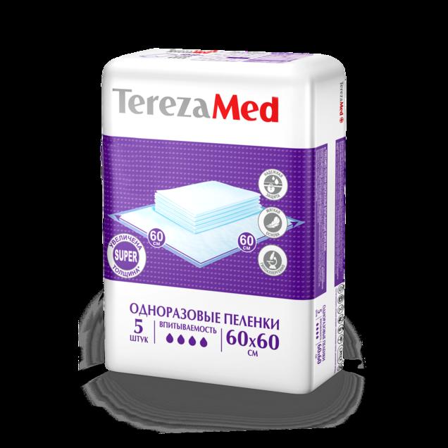 фото упаковки TerezaMed Super пеленки одноразовые