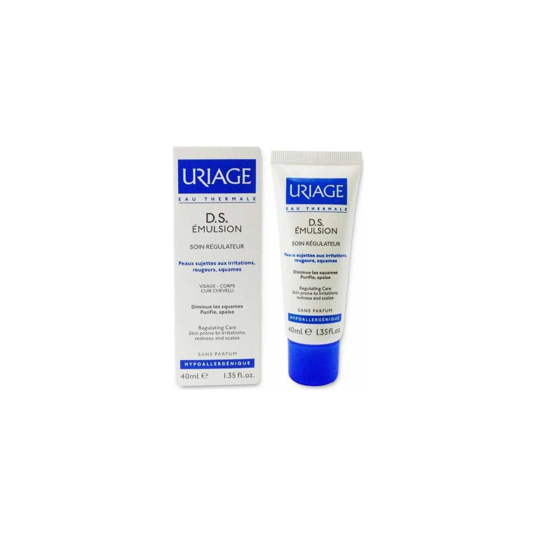 Uriage D.S. эмульсия Регулирующий уход, эмульсия для наружного применения, 40 мл, 1 шт.