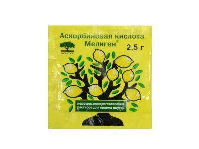 фото упаковки Аскорбиновая кислота Мелиген