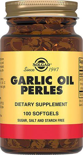 фото упаковки Solgar Чесночное масло Перлес