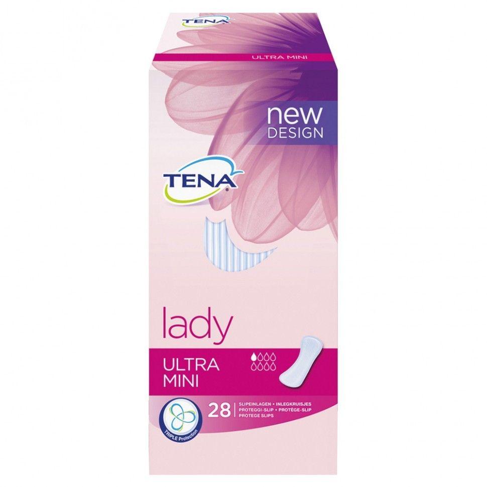 фото упаковки Tena Lady Ultra Mini прокладки урологические