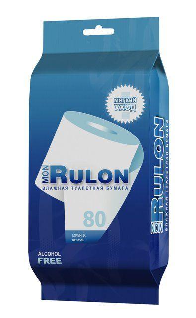 фото упаковки Бумага туалетная влажная Mon Rulon