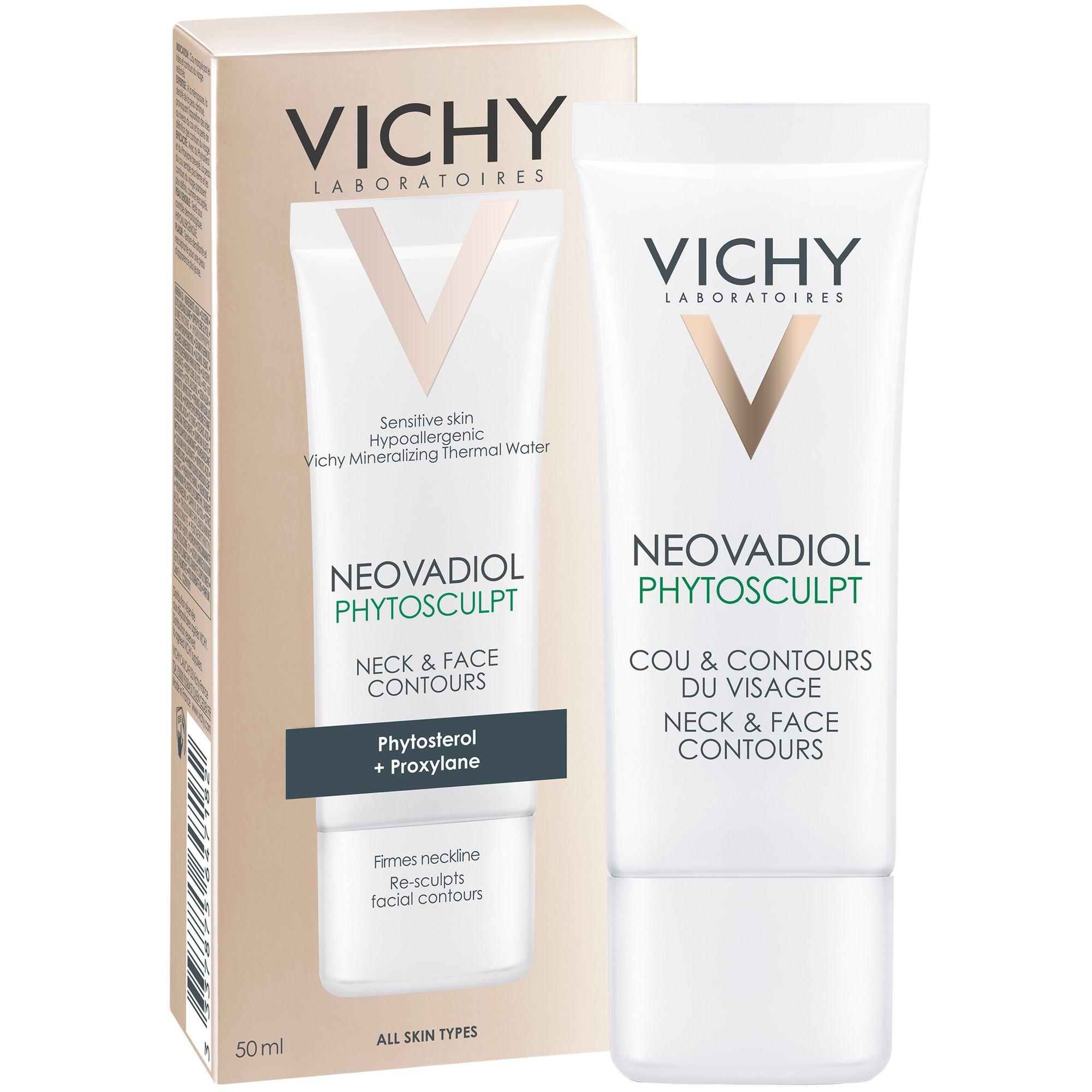 фото упаковки Vichy Neovadiol Phytosculpt крем для зоны шеи, декольте и овала лица