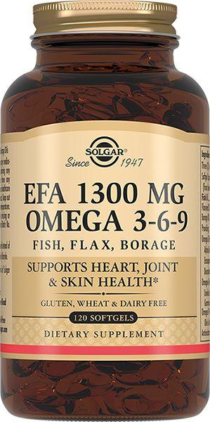 фото упаковки Solgar Комплекс жирных кислот 1300 мг омега 3-6-9