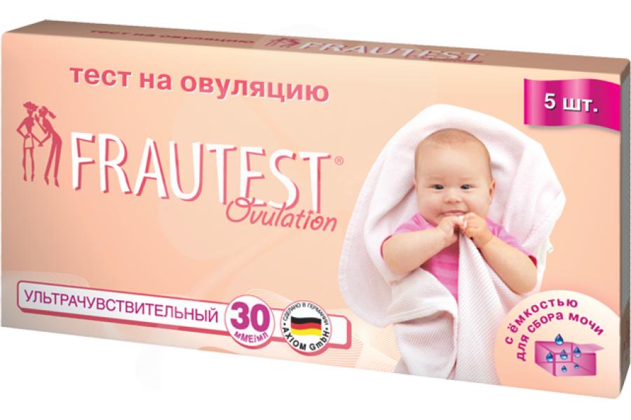 фото упаковки Frautest Тест для определения овуляции