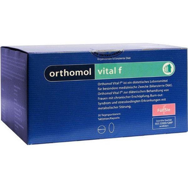 Orthomol Vital F, капсулы и таблетки, 30 шт.