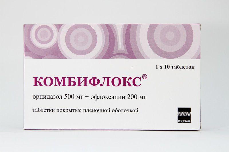 фото упаковки Комбифлокс