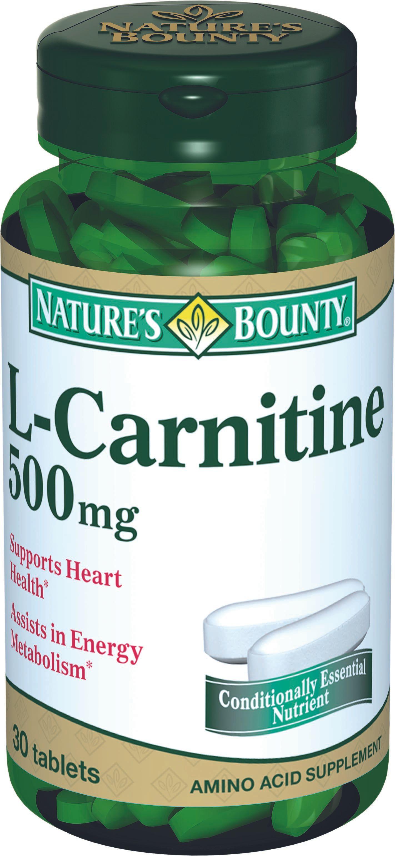 фото упаковки Natures Bounty L-Карнитин 500 мг