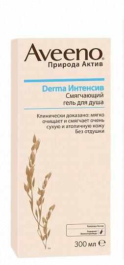 фото упаковки Aveeno Derma Интенсив смягчающий гель для душа