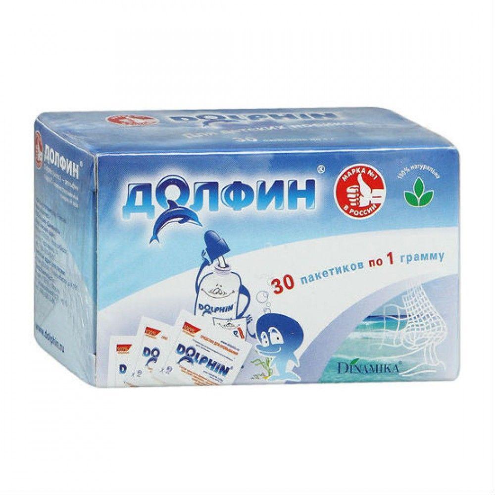 фото упаковки Долфин средство для промывания полости носа и горла