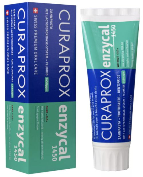 фото упаковки Curasept Enzycal 1450 Зубная паста