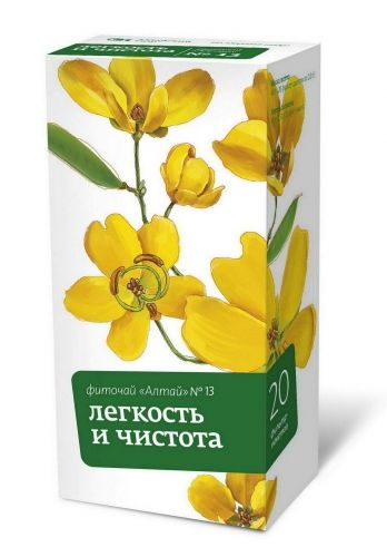 фото упаковки Фиточай Алтай №13 Легкость и чистота