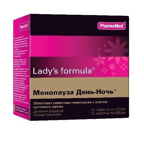 фото упаковки Lady's formula Менопауза День-Ночь