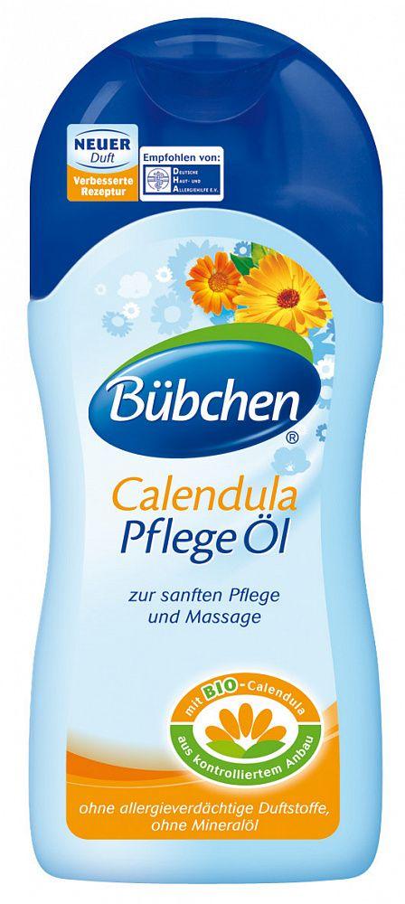 фото упаковки Bubchen Масло косметическое детское Календула