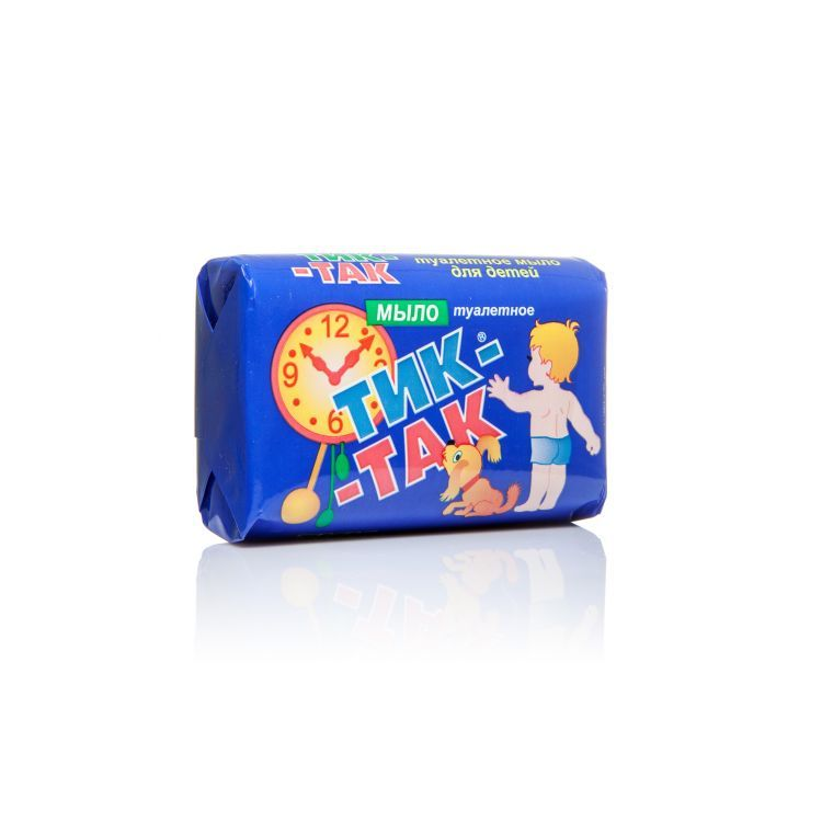 фото упаковки Мыло туалетное «Тик-так»