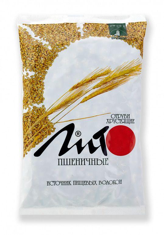 фото упаковки Отруби хрустящие с кальцием Лито пшеничные