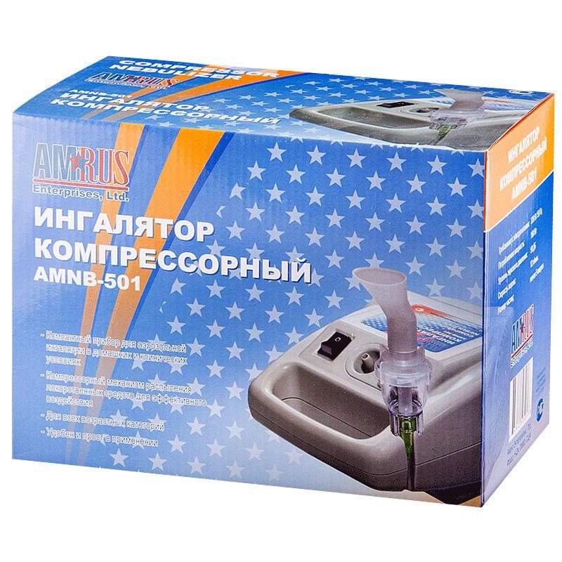 фото упаковки Ингалятор компрессорный AMNB-501