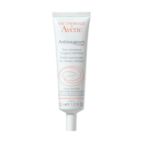 Avene Antirougeurs крем-концентрат от покраснений кожи, крем для лица, 30 мл, 1 шт.