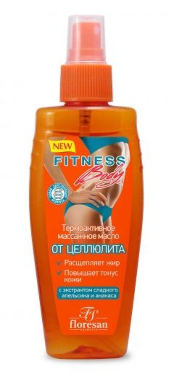 фото упаковки Floresan Фитнес Body термоактивное массажное масло От целлюлита